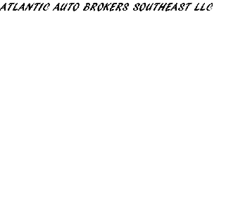 ATLANTIC AUTO BROKERS SOUTHEAST LLC